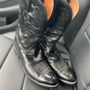 Lucchese Black Boots Size 11 D